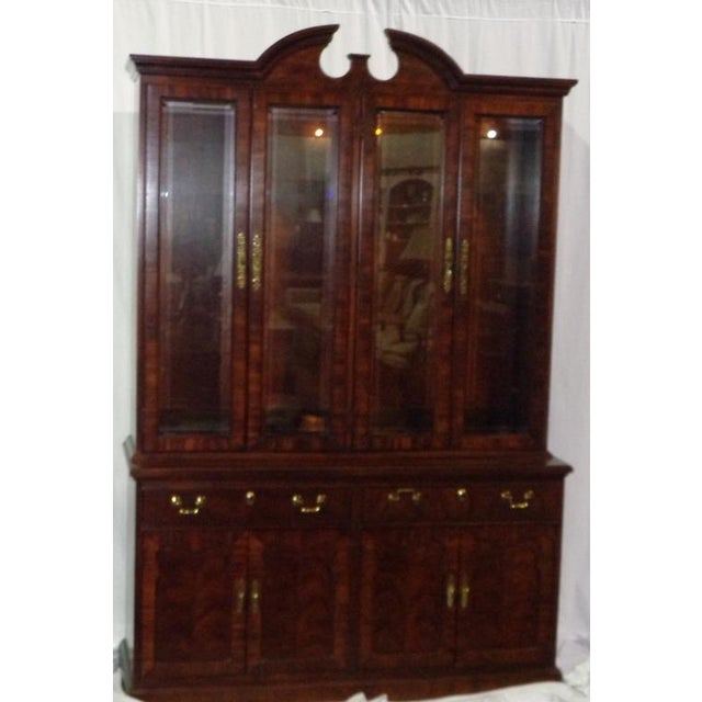 Thomasville Mahogany China Cabinet - Image 5 of 6