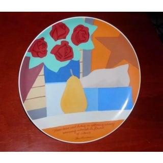 "Tom Wesselmann X Rosenthal Studio Line Ltd. Ed. ""Frozen Tears"" Numbered Artist Plate Preview"