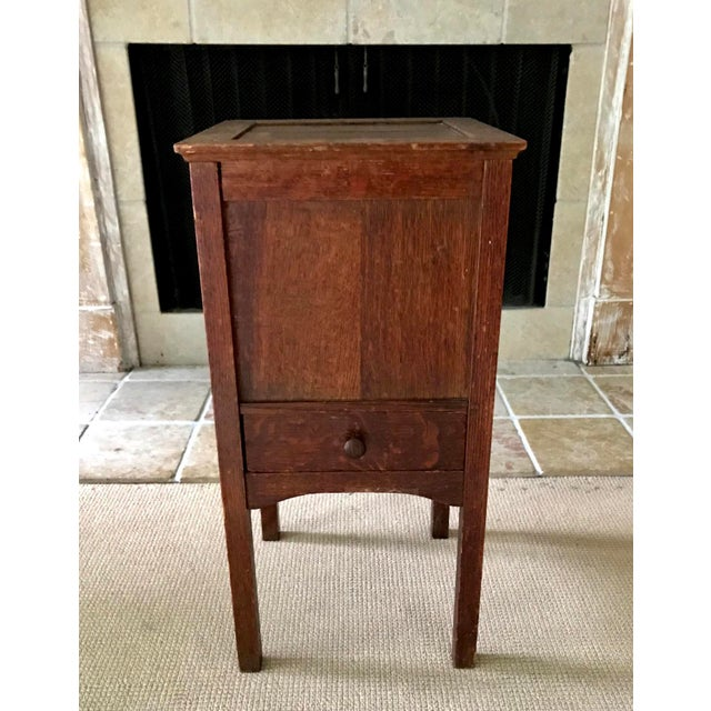 Vintage Antique Sewing Cabinet For Sale In New York - Image 6 of 10 - Vintage Antique Sewing Cabinet Chairish