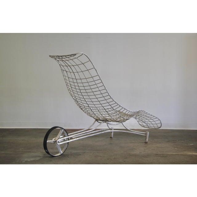 Mid-Century Modern 1950s Vintage Vladimir Kagan Capricorn Chaise Lounge For Sale - Image 3 of 12