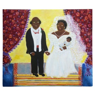Rosalind Brodoff: Untitled (Bride and Groom With Daughter)