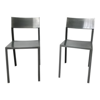 Cb2 Industrial Chairs - a Pair