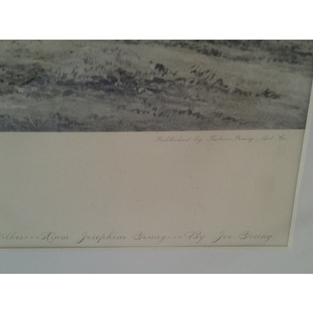 Joe Patchen Original Print Circa 1895 For Sale In Pittsburgh - Image 6 of 9