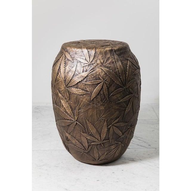 Bronze Erin Sullivan, Flora Series, Cannabis Stool, Usa, 2018 For Sale - Image 7 of 7