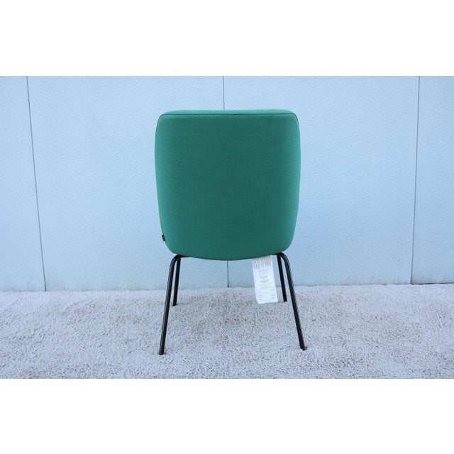 Modern Brian Kane for Coalesse and Steelcase Bindu Green Guest Chair For Sale In New York - Image 6 of 13