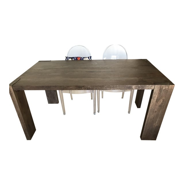 Cb 2 Blox Wooden Dining Table