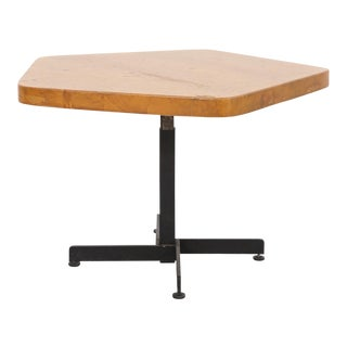 Les Arcs Adjustable Pentagonal Table by Charlotte Perriand For Sale