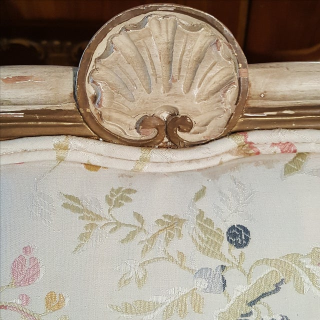 19th Century French Provincial Loveseat Settee For Sale - Image 7 of 10