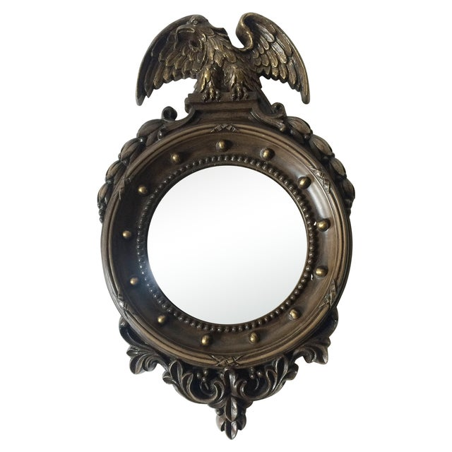 Federal Style Small Convex Mirror - Image 1 of 6
