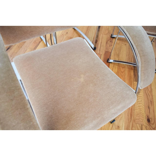 Vintage Giovanni Offredi for Saporiti Italia Dining Chairs - Set of 4 - Image 6 of 6