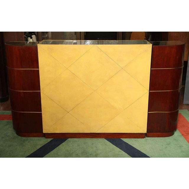 Art Deco Exceptional French Art Deco Bar by Andre Arbus For Sale - Image 3 of 10
