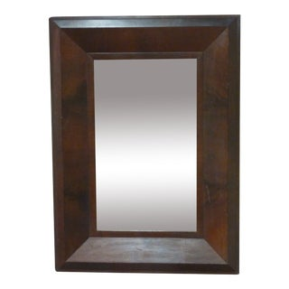 19th Century Vintage American Mahogany Mirror For Sale