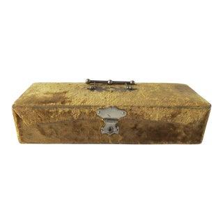 Antique Velvet Cadbury Bros. Box For Sale
