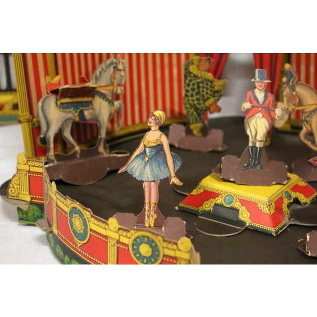 Antique 1920s Paper Circus Game Set - Image 9 of 9