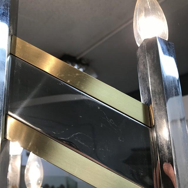 Gaetano Sciolari Chevron Chandelier For Sale In Richmond - Image 6 of 10