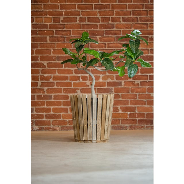 Customizable Plantum American Hardwood Modular Planter Cover - Image 5 of 7