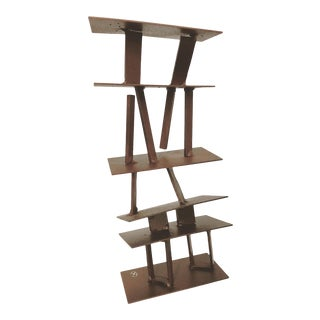 Abstract Contemporary Brutalist Tabletop Sculpture For Sale