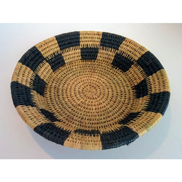 Handwoven African Catch All Boho Chic Basket - Image 2 of 8