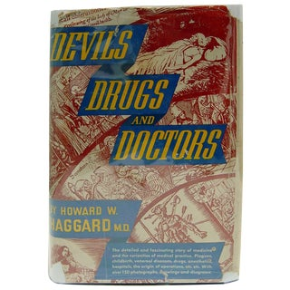 Devils Drugs & Doctors History of Medicine Book For Sale