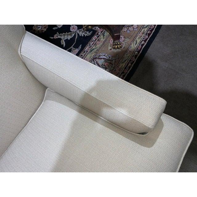 2000 - 2009 Ethan Allen Tuxedo Sofa For Sale - Image 5 of 10