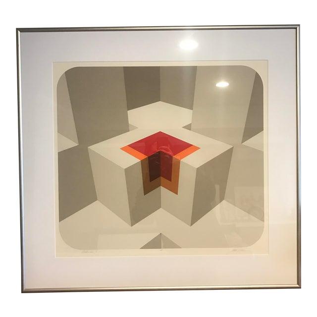 Signed & Framed Serigraph Print by Marko Spalatin For Sale