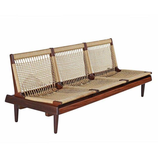 Hans Olsen Tv 161 for Bramin Mobler Modular Rope Seating & End Table Sofa Set For Sale In Tampa - Image 6 of 12
