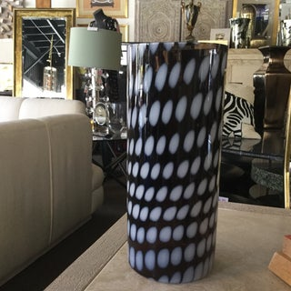 Contemporary Kosta Boda Signed Tall Cylinder Glass Vase Preview