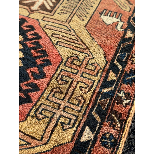 1950s 1950s Vintage Persian Sarab Runner Rug - 3′1″ × 10′2″ For Sale - Image 5 of 13