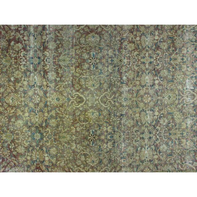 Antique Persian Kermanshah Carpet - 9' x 12'1'' - Image 2 of 3