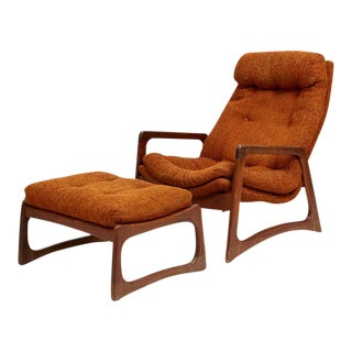 Adrian Pearsall Lounge Chair and Ottoman for Craft Associates For Sale