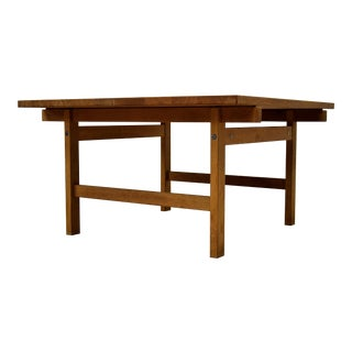 Hans Wegner Oak Club Table