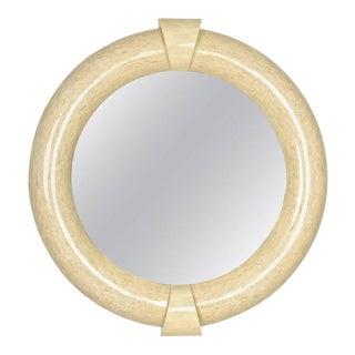 Large Tessellated Bone Mirror For Sale