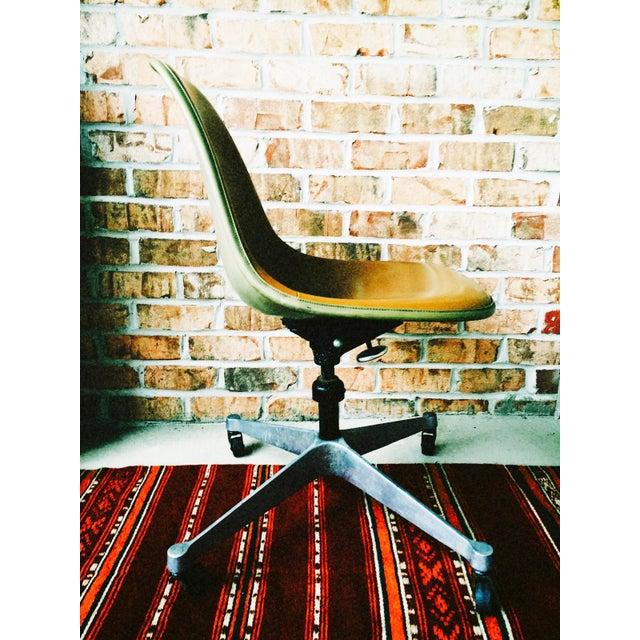 Herman Miller Eames Upholstered Fiberglass Shell Chair - Vintage - Image 5 of 8