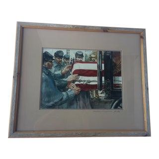 """Robert Fletcher's """"Caring Hands"""" Framed Print For Sale"""