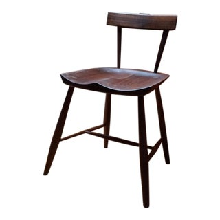 Walnut Kestrel Side Chair For Sale