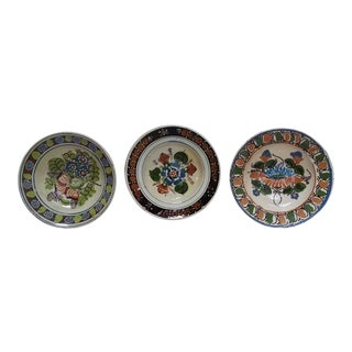Antique Ceramic Bowls - Set of 3 For Sale