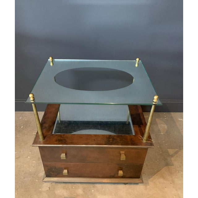 Art Deco Julian Chichester Getty Nightstand For Sale - Image 3 of 5