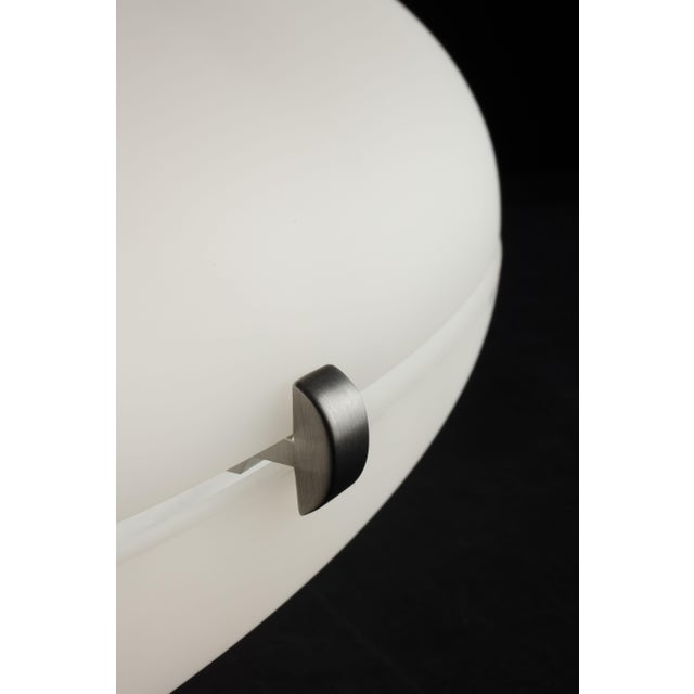 Gio Ponti Gio Ponti Luna Suspension Lamp in Nickel For Sale - Image 4 of 5