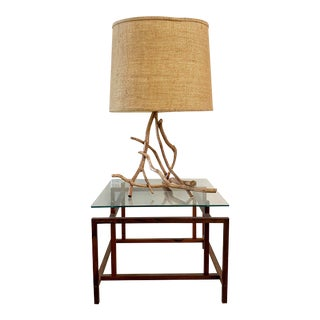 Vintage Mid-Century Modern Tree Branch Table Lamp For Sale