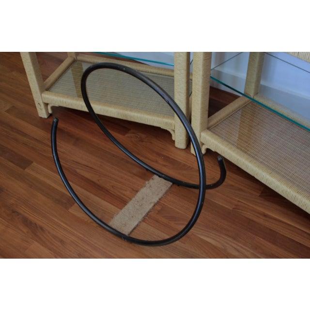 Iron Modernist Iron Log Holder For Sale - Image 7 of 7