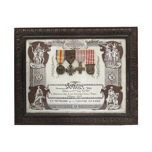 World War I Souvenir De La Grande Guerre 1914/1918 For Sale - Image 4 of 4
