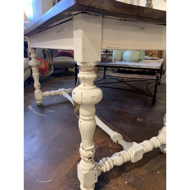 Brown 1910s French Farm Table For Sale - Image 8 of 13