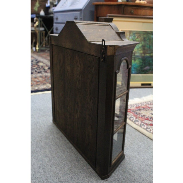 Early 20th Century Dutch Hanging Cupboard For Sale - Image 5 of 7