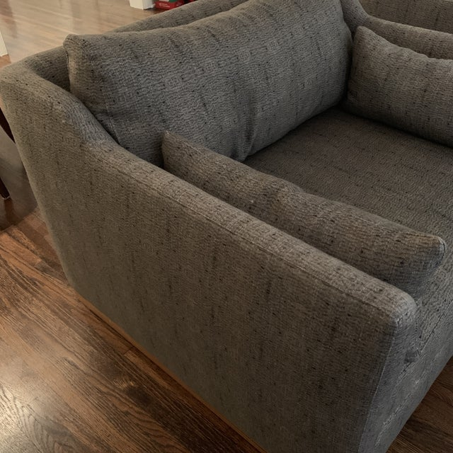 Cisco Brothers Cisco Home Chairs- a Pair For Sale - Image 4 of 12