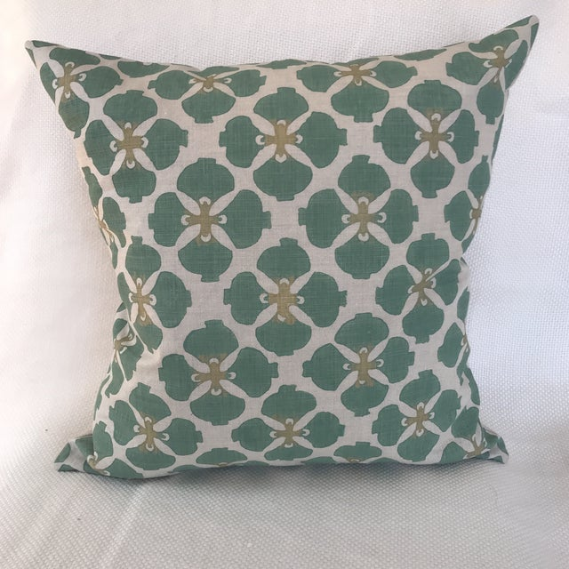 Galbraith & Paul Linen Pillows - A Pair For Sale - Image 4 of 7