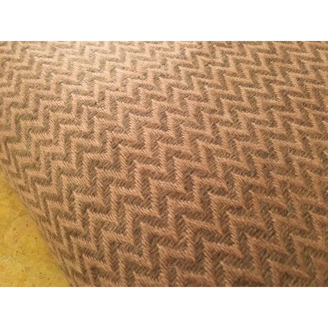 Large Pink Cashmere Blanket - Image 7 of 11