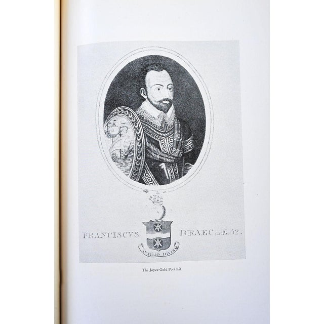 Brown Sir Francis Drake's Voyage Around the World Book For Sale - Image 8 of 10