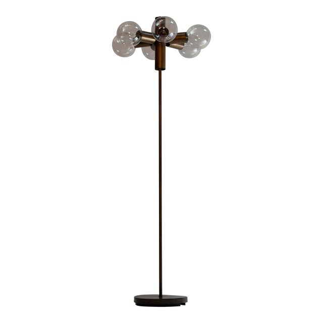 Satelite Style Floor Lamp For Sale