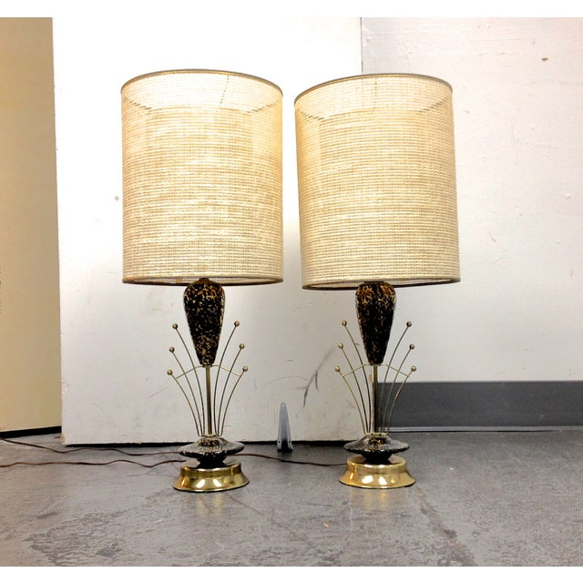 Art Deco Lamps - A Pair - Image 2 of 7