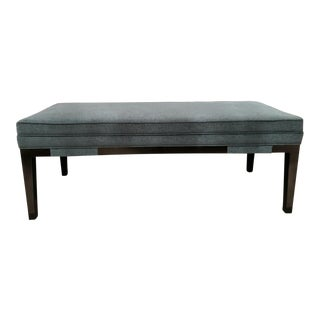 Dark Teal Bench For Sale